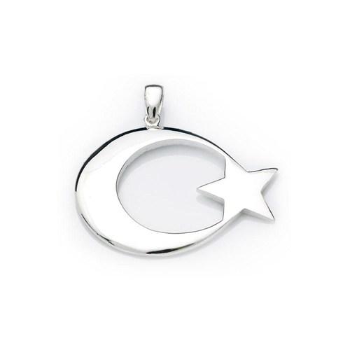 Olivin Accesories Gümüş Ay 432406