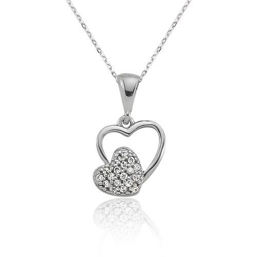 Olivin Accesories Gümüş Kalbim Kolye 432638