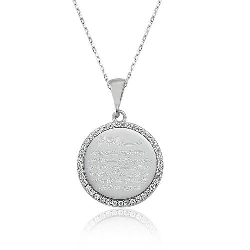 Olivin Accesories Gümüş Ayetel Kürsi Kolye 432649