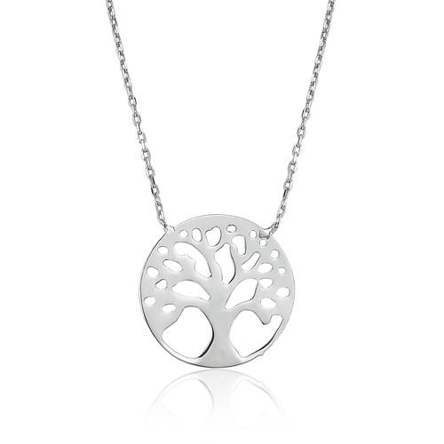 Olivin Accesories Gümüş Hayat Ağacı Kolye 432694
