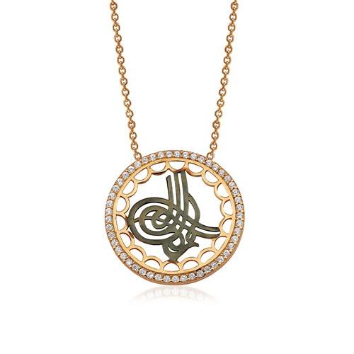 Olivin Accesories Gümüş Tuğra Kolye 432745