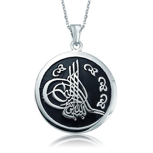 Olivin Accesories Gümüş Tuğra Kolye 432800