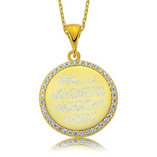 Olivin Accesories Gümüş Nazar Duası Kolye 432812