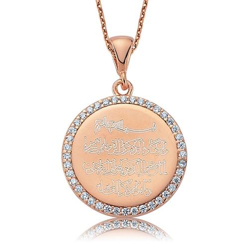 Olivin Accesories Gümüş Nazar Duası Kolye 432813