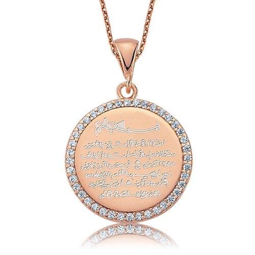 Olivin Accesories Gümüş Ayetel Kürsi Kolye 432814