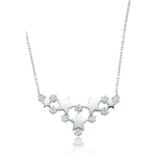 Olivin Accesories Gümüş Yıldız Kolye 432816