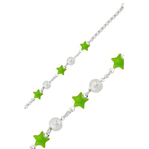 Olivin Accesories Yeşil Yıldız Çocuk Bileklik 433182