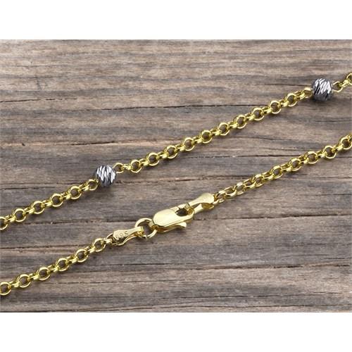 14 Ayar Altın Bileklik Zinciri Zn0047