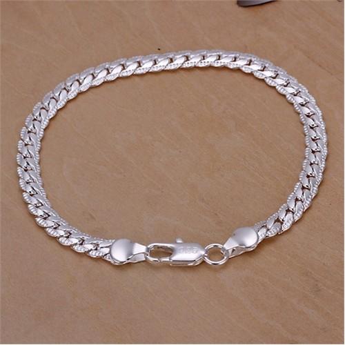 Byzinci Gümüş Zincir Bileklik