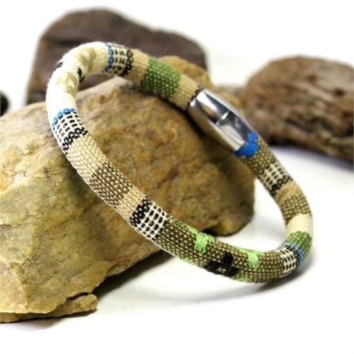 Takıcadde Aztec Style Çelik Klips Tasarım Bileklik