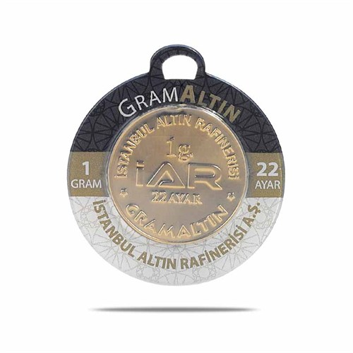 Iar 22 Ayar Külçe Gram Altın 1 Gr