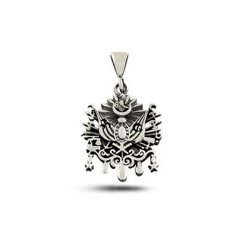 Piamen Erkek Gümüş Kolye Osmanlı Devlet Arması