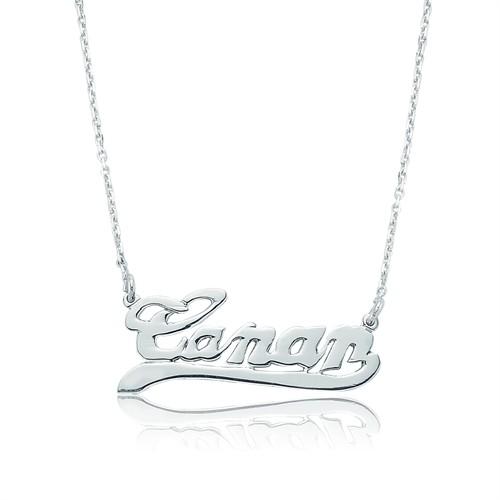 Tekbir Silver Gümüş Kişiye Özel İsimlik Kolye