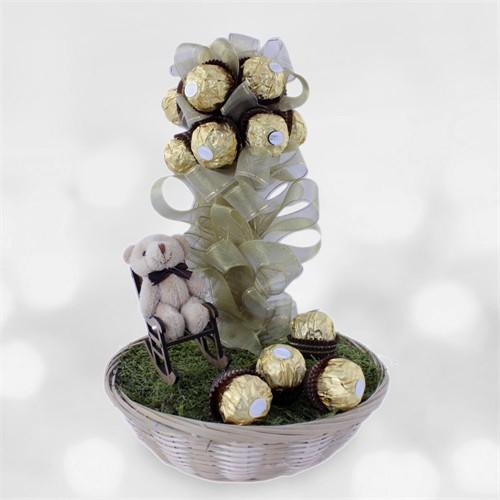 Doğum Günü Hediyesi Tatlı Masal Çikolata Ağacı
