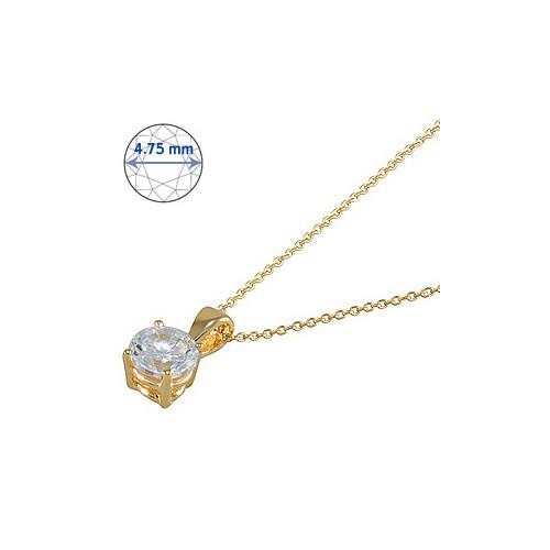 Goldstore 14 Ayar Altın Tek Taş Kolye GSP15867