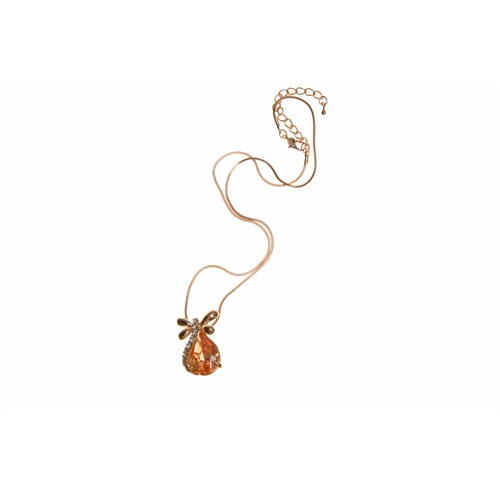 Lochers Altın Kaplama Kelebek Figürlü Kolye