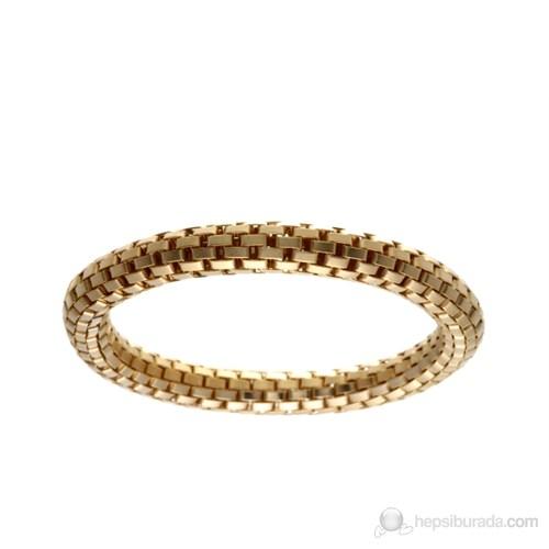 Lochers Altın Kaplama Özel Çelik Örgü Bileklik