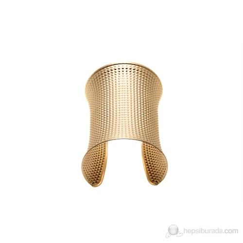 Lochers Altın Kaplama Dövme Desenli Bayan Bileklik