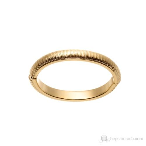 Lochers Altın Kaplama İşleme Desenli Bileklik