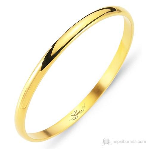 Lochers Altın Kaplama Çelik Bileklik