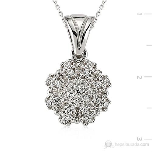 Tekbir Silver 925 Gümüş Zirkon Taşlı Kolye Set101132p