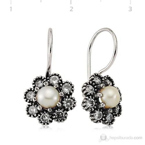Gumush 925 Zirkon Taşlı Gümüş Küpe   Ea1760009
