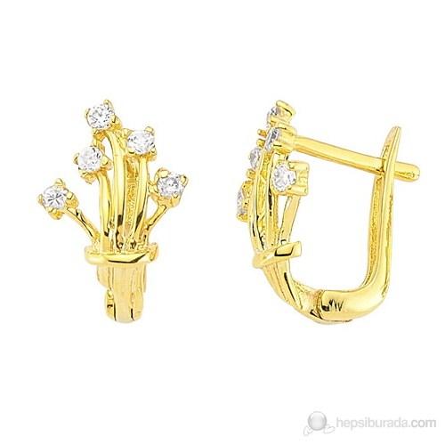 Goldstore 14 Ayar Altın Küpe Ge25405
