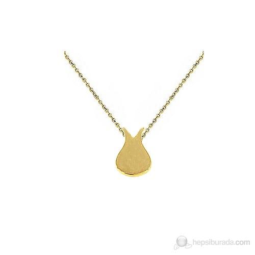 Goldstore 14 Ayar Altın Lale Kolye Gp19573