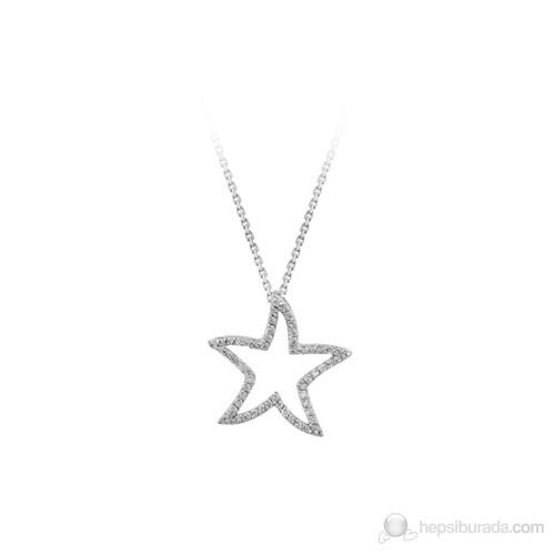 Sirius Pırlantalı Yıldız Kolye