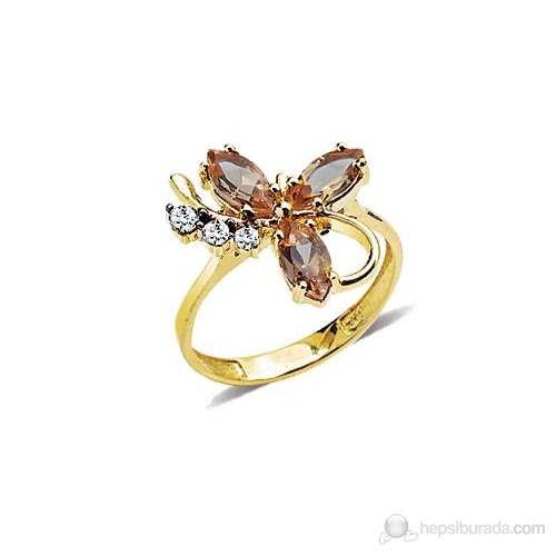 Allegrogold 14 Ayar Altın Zultanite Yüzük Ayz0012