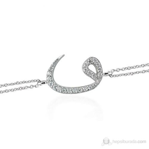 Glorria 925 Ayar Gümüş Vav Bileklik