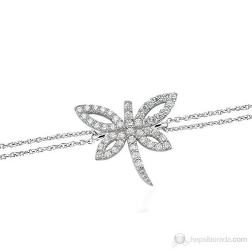 Glorria 925 Ayar Gümüş Yusufçuk Bileklik