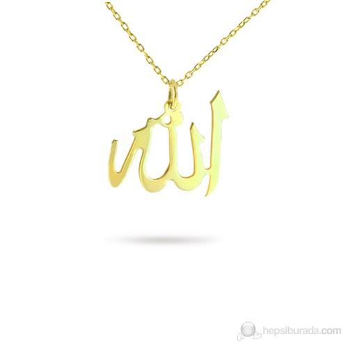 eJOYA ''Allah'' Altın Kolye