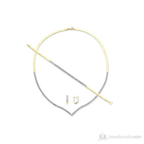 Melis Gold 8 Ayar Altın , Gerdanlık ve Düğün Seti Ds00057
