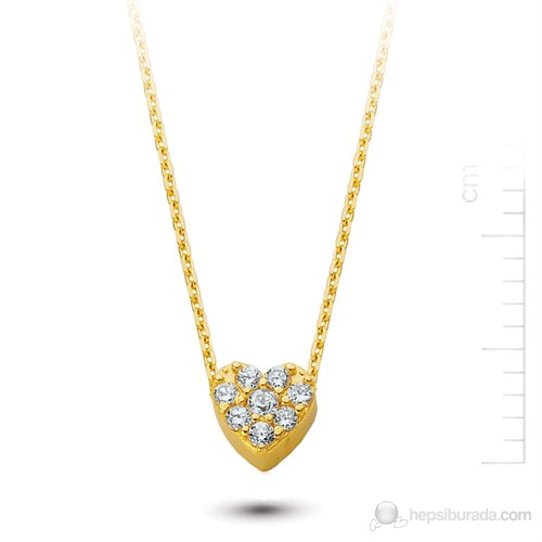 Bella Gloria Altın Kalp Kolye (Pp78192)