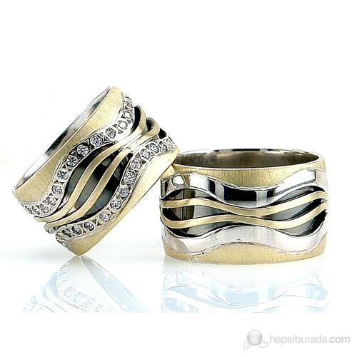Berk Kuyumculuk Gümüş Alyans 5537 (Çift Fiyatı)