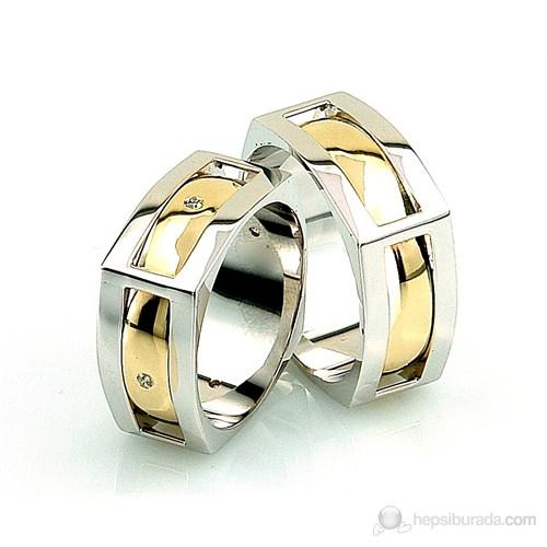 Berk Kuyumculuk Gümüş Alyans 5542 (Çift Fiyatı)