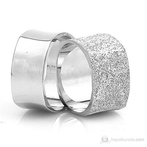 Berk Kuyumculuk Gümüş Alyans 5557 (Çift Fiyatı)
