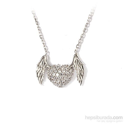 Ejoya Kalp Gümüş Kolye
