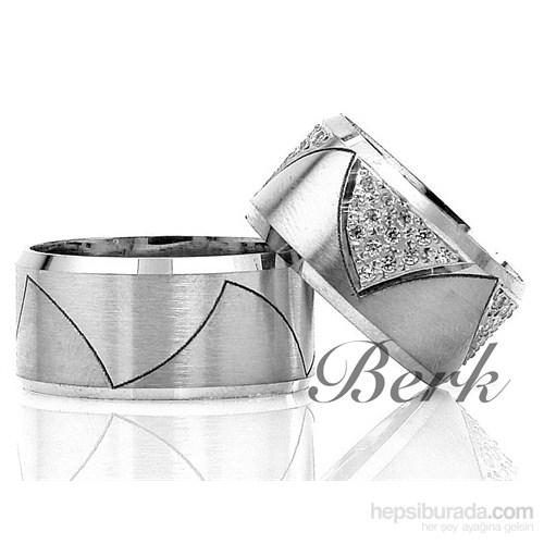Berk Kuyumculuk Gümüş Alyans 5581 (Çift Fiyatı)