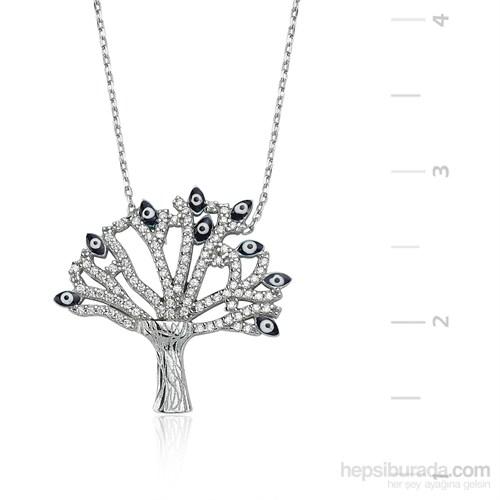 Gumush Gümüş Dilek Ağacı Kolye