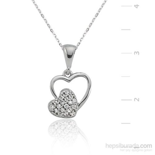 Gumush Gümüş Kalbim Kolye