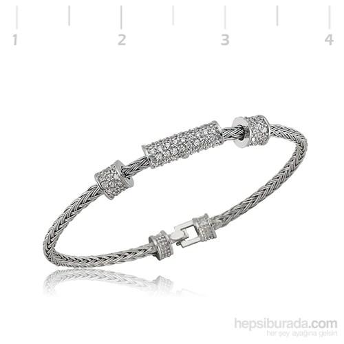 Gumush 925 Ayar Gümüş Kelepçe Bilezik