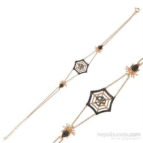Gumush Gümüş Muhammed Yazılı Örümcek Ağı Bileklik