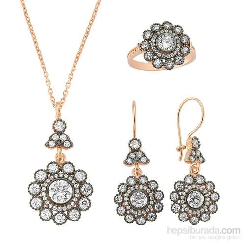 Gumush Gümüş Çiçek Set