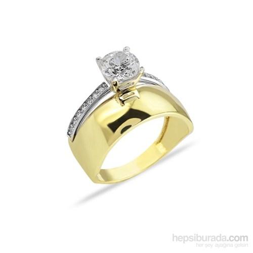 Melis Gold Taşlı Yüzük Ay0000191