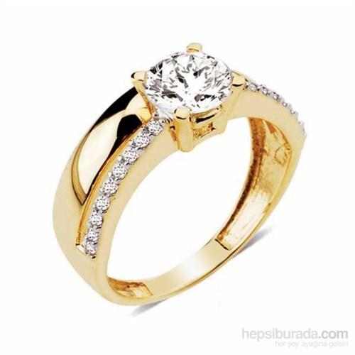Melis Gold Taşlı Yüzük Ay0000199