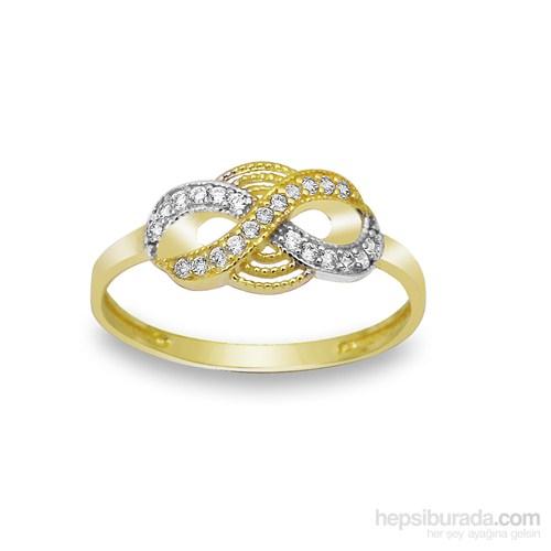 Melis Gold Sonsuzluk Yüzük Ay0000206