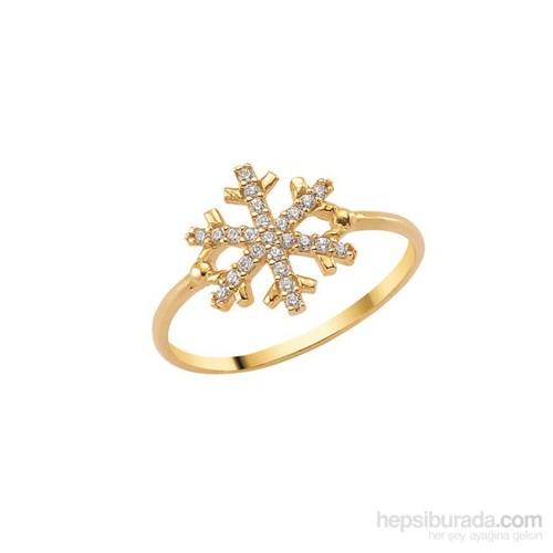 Melis Gold Altın Taşlı Kartanesi Yüzük Ay0000215