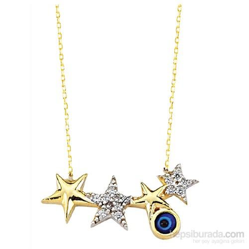Melis Gold Altın Yıldız Kolye Kly00727